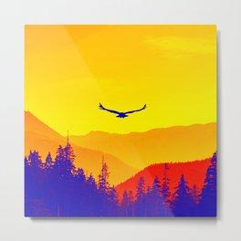 Flight or Fire Metal Print