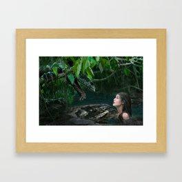 Fair Maiden Framed Art Print