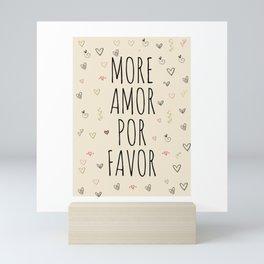 More Amor Mini Art Print