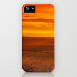 Kansas Sunset iPhone Case