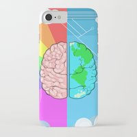 technology iPhone & iPod Cases featuring Technology minded by JW's art