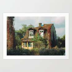 COTTAGE Art Print