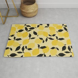Seamless Citrus Pattern / Lemons Rug