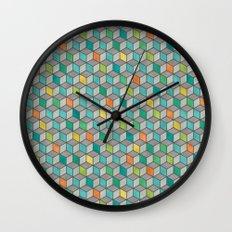Block Party Wall Clock