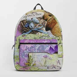 Easter Time Backpack