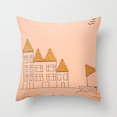 cracker home Throw Pillow