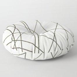 Irregular Waves Floor Pillow