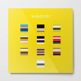 Album Art Series: Weezer Metal Print