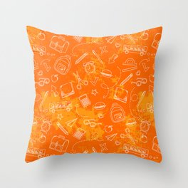 School chemical #5 Throw Pillow