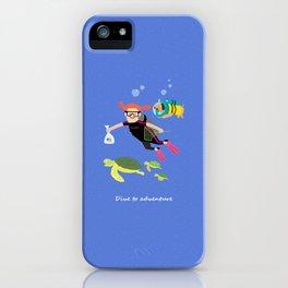 In the ocean iPhone Case