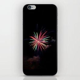 Star of Fireworks iPhone Skin