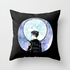 Auror Harry Throw Pillow