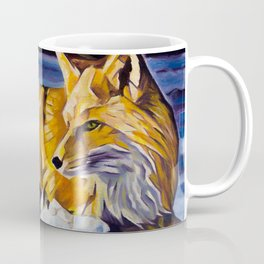 Twilight Fox Coffee Mug