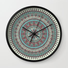 Milagro Mandala Wall Clock