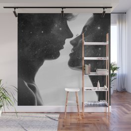 Couples of heaven. Wall Mural