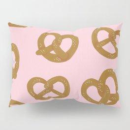Pretzel Pattern – Blush Pillow Sham