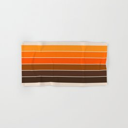 Golden Spring Stripes Hand & Bath Towel