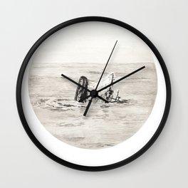 GHOST SHIP III Wall Clock