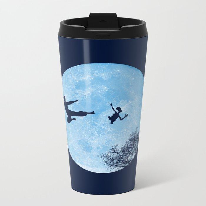 Go Big or Phone Home Metal Travel Mug