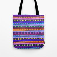 gem Tote Bags featuring Gem by Erin Jordan