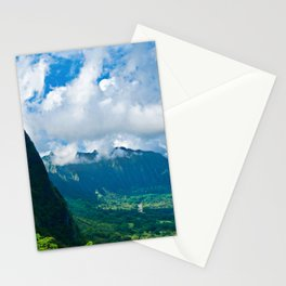 Pali Lookout View 1 Stationery Cards