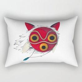 Mononoke Mask  Rectangular Pillow