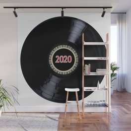2020 Long Player Record Wall Mural