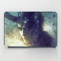 stephen king iPad Cases featuring King by Anna Dittmann