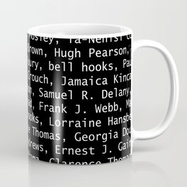 African American Literary Rebels Coffee Mug