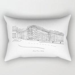 Frank Owen Gehry Rectangular Pillow