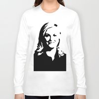 leslie knope Long Sleeve T-shirts featuring Leslie Knope by Bjarni Bragason