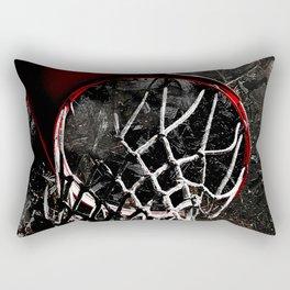 Basketball jam session version 1 Rectangular Pillow