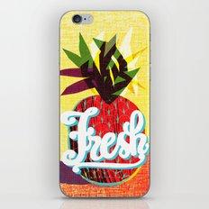 fresh flash iPhone & iPod Skin