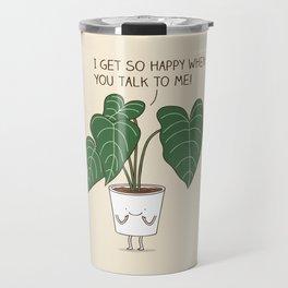 Plant talk Travel Mug