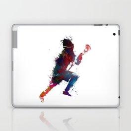 Lacrosse player art 1 Laptop & iPad Skin