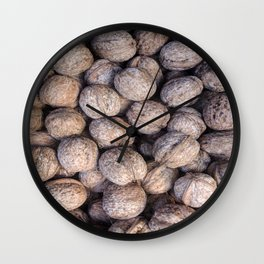 Nuts over You Wall Clock