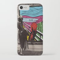 scream iPhone & iPod Cases featuring Scream by Canson City