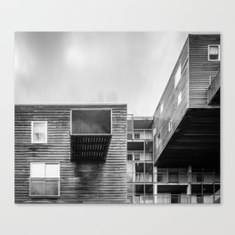 Building in Amsterdam Canvas Print
