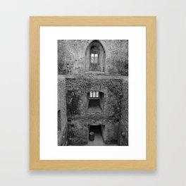 Castel Rooms Without Floors Framed Art Print