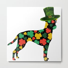 Happy St Patrick's Day ! | Brazilian terrier (Terrier brasileiro) dog, Animals Metal Print