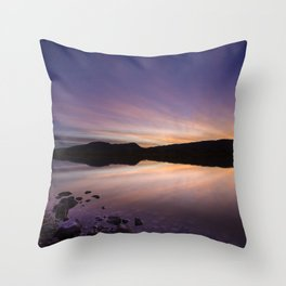 Pahranagat National Wildlife Refuge Sunset #2 Throw Pillow