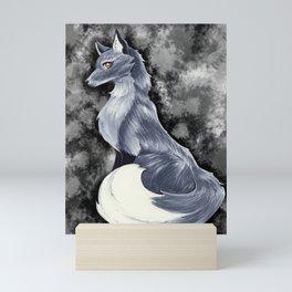 Silver Fox Mini Art Print
