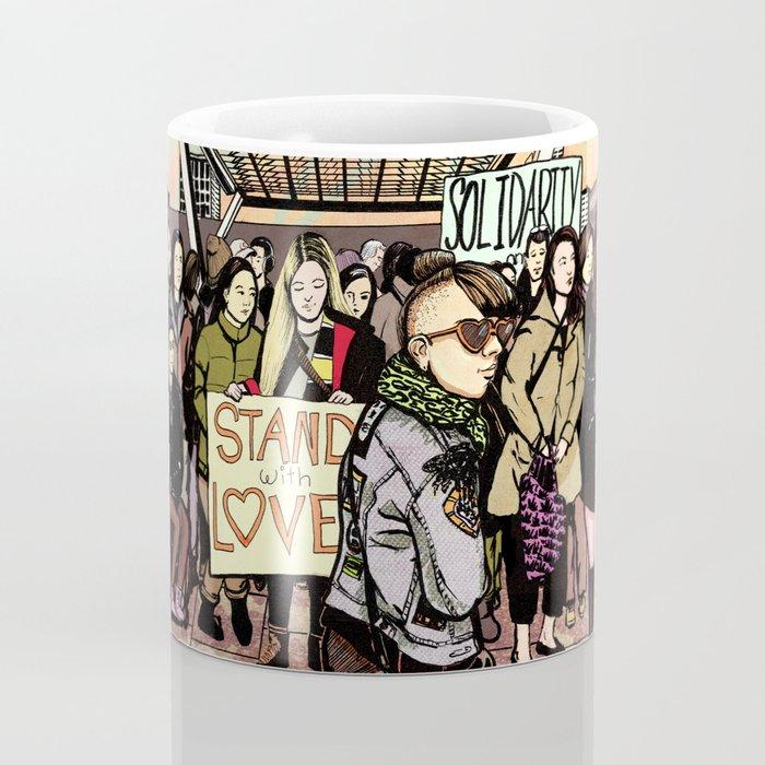 Love and Solidarity Coffee Mug