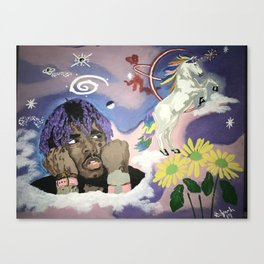 Luv Is Rage Canvas Print