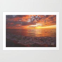Inspirational Sunset by Aloha Kea Photography Art Print