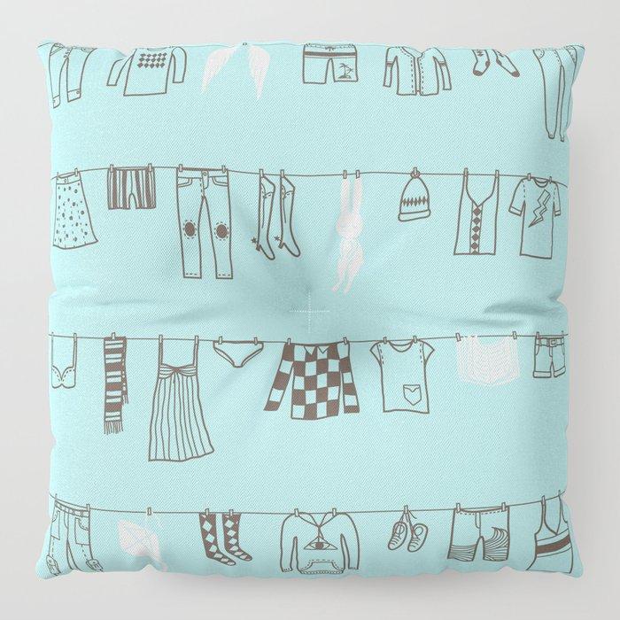 One Fine Day Floor Pillow