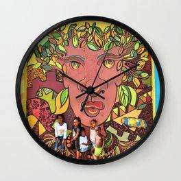 Mother Nature / 41 Fleet St  Wall Clock