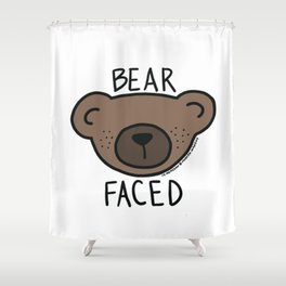 Bear Faced Shower Curtain
