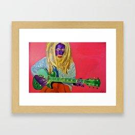 Icon Portrait Framed Art Print