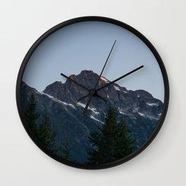 Big Mountain Wall Clock